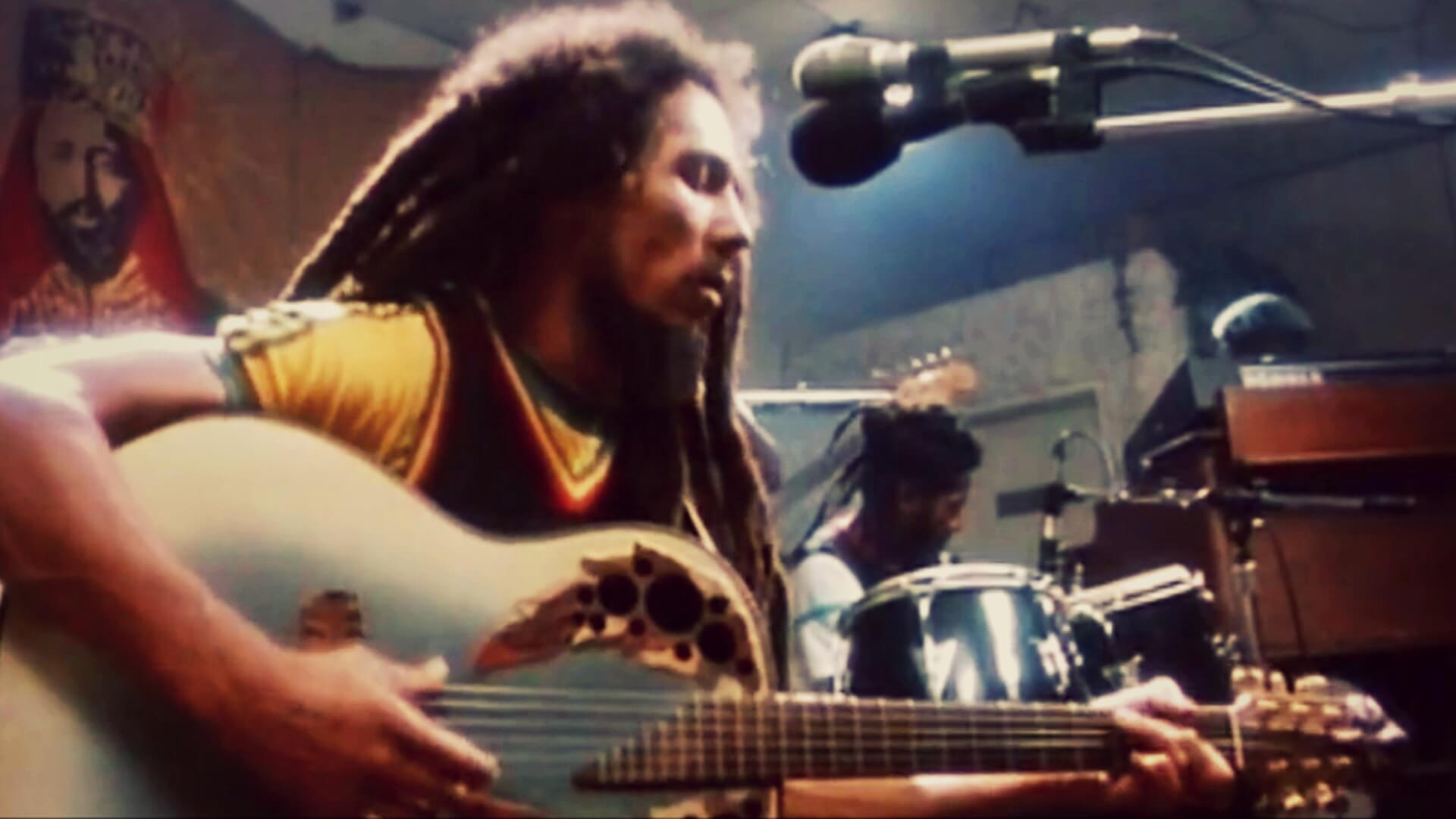 Won't you help to sing? Bob Marley's Redemption Song - MH1986